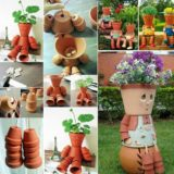 Easy-to-Make Clay Flowerpot People, Bring Life to Your Garden