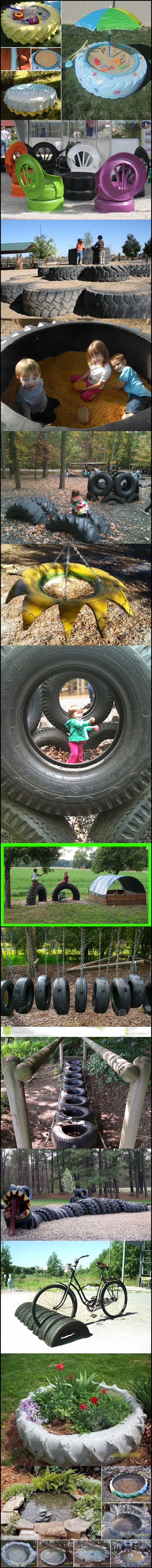 tire ideas Wonderful DIY 10 ways to reuse old tires