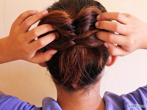 Wonderful Super Easy Bow Bun For Short Hair Style