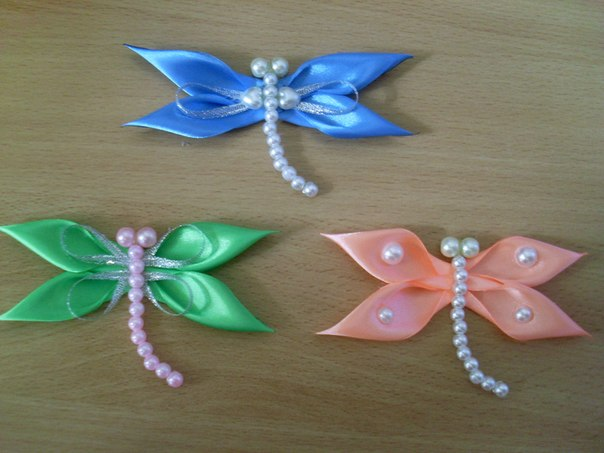 73 Wonderful DIY Lovely Ribbon Dragonfly
