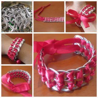 Wonderful DIY Bracelet From Pop tabs