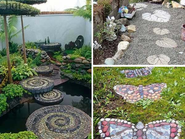 23 Wonderful DIY Garden Stepping Stone Ideas
