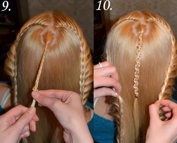 DIY-Beautiful-Braided-Hairstyle-5