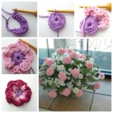 Wonderful DIY Crochet Carnation Flower