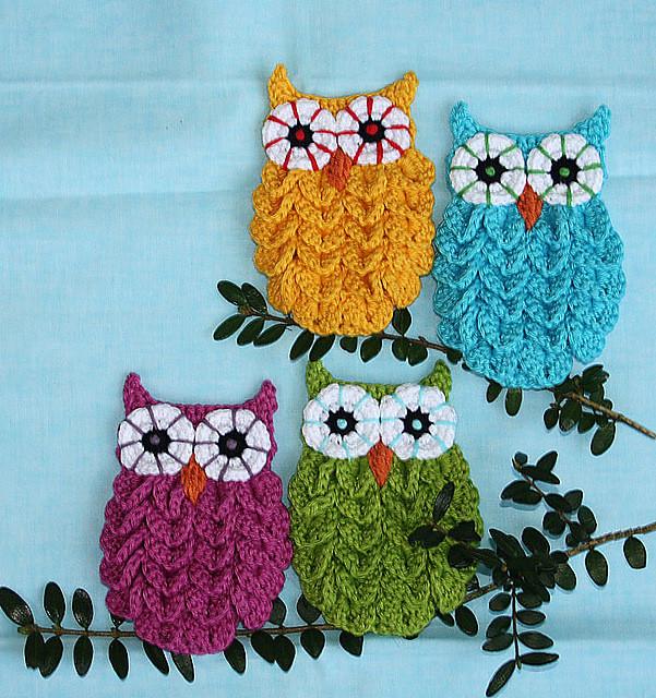 DIY Crochet Owl0 Wonderful DIY Cute Crochet  Crocodile Stitch Owls