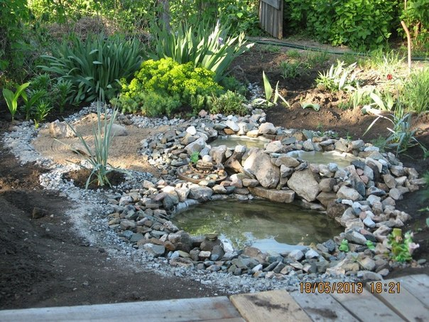 VIEW IN GALLERY DIY Garden Ponds From Old Tires 1 Wonderful DIY Garden Ponds  From Old Tires