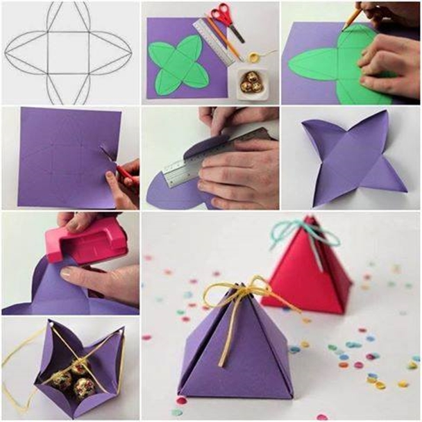 DIY Gift Box F Wonderful DIY Pyramid  Gift Box