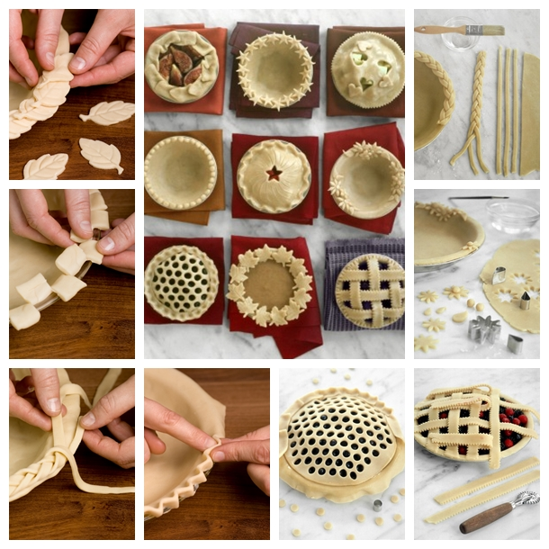 DIY Pretty Decorative Pie Crusts F Wonderful DIY Decorative Pie Crusts