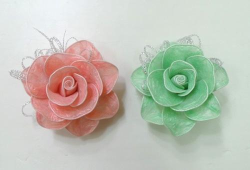 DIY Roses from Plastic Garbage Bag 1 Wonderful DIY Pretty Roses from Plastic  Bags
