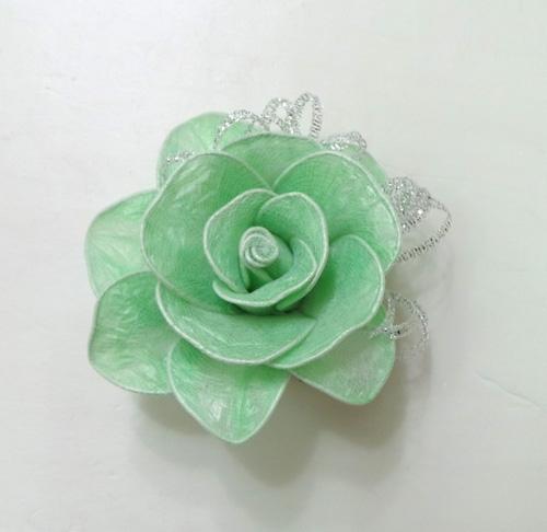 DIY-Roses-from-Plastic-Garbage-Bag-7
