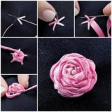 Wonderful DIY Embroidery Ribbon Rosette