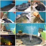 Wonderful DIY Amazing Garden Fish Pond