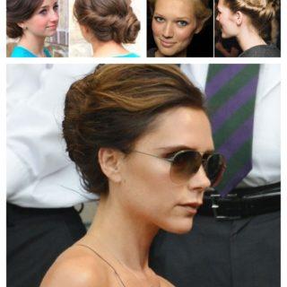 Wonderful DIY Twisted Updo Hairstyle