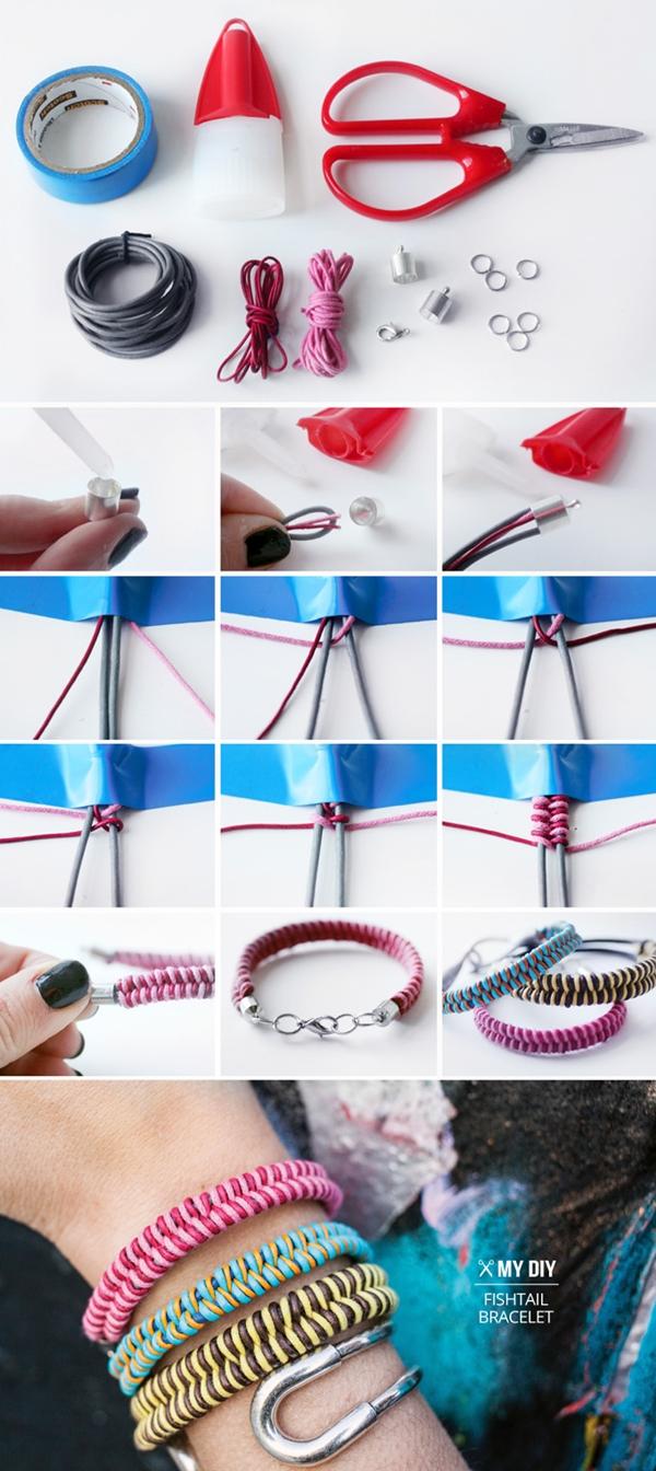 Fishtail Braid Bracelet M Wonderful DIY Fishtail Braid Friendship Bracelet