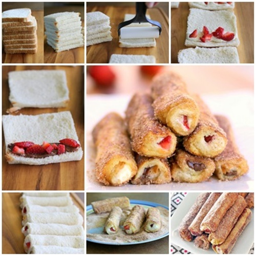 Franch toast roll i Wonderful DIY French Toast Roll Ups