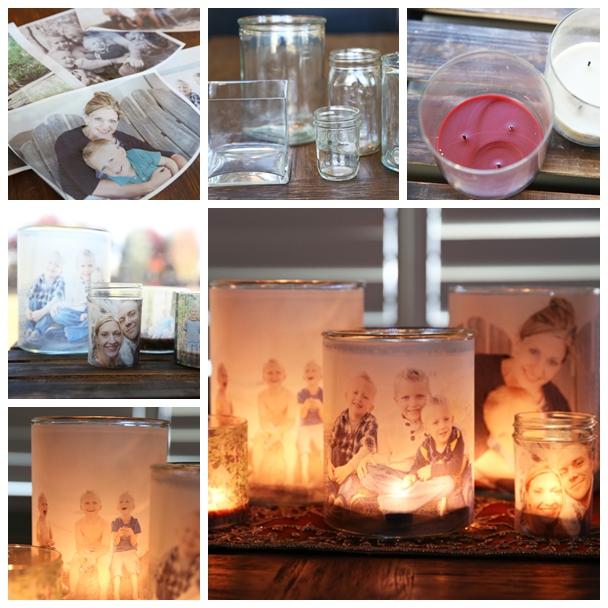 Wonderful diy glowing photo luminaries solutioingenieria Image collections