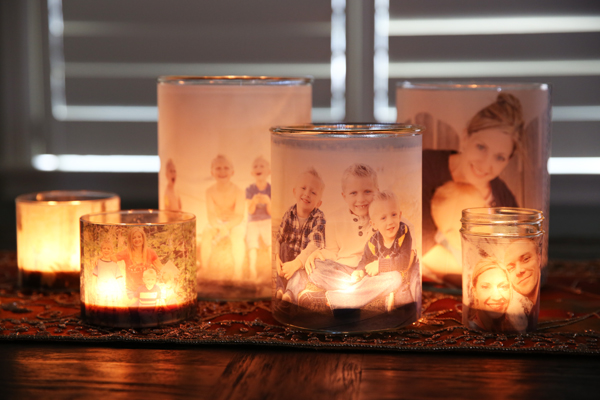 Glowing Photo Luminaries8 Wonderful DIY Glowing Photo Luminaries