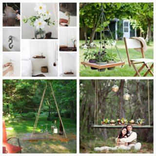Wonderful DIY Hanging Table