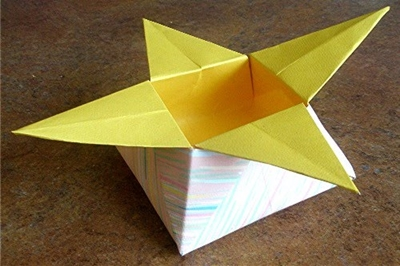 How to make a closed origami star box: page 17 | 266x400