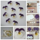Wonderful DIY Pretty Polymer Clay Pansy