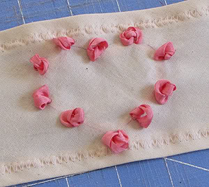 Romantic Silk ribbon embroidery Roses5
