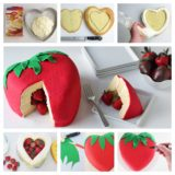 Wonderful DIY  Cute Strawberry  Cake