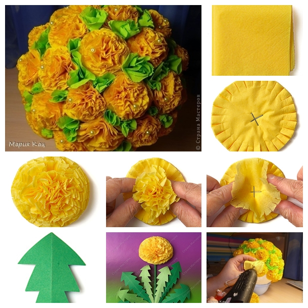Wonderful Diy Beautiful Tissue Paper Flowers