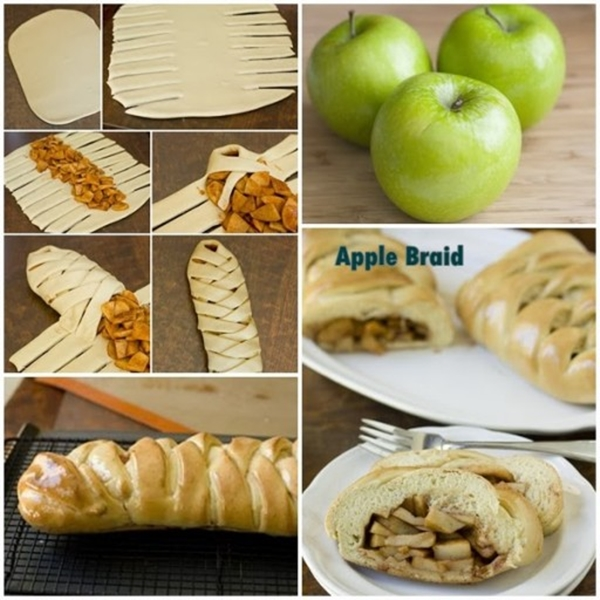 apple braid F Wonderful DIY Apple Braid Bread