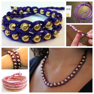 Wonderful DIY Braided Bracelet With Bead