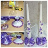 Wonderful DIY  Candlestick From Plastic Bottles