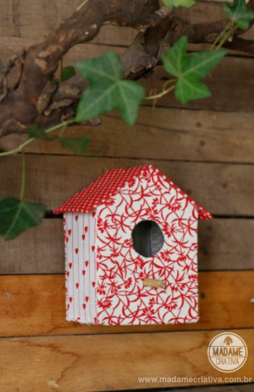 carboard bird house4