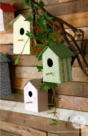 carboard bird house5
