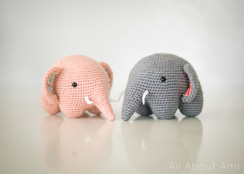 crochet adorable elephant 9 7 Wonderful DIY Crochet Adorable Elephant