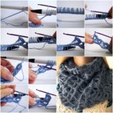 Wonderful DIY Crochet  Broomstick Lace Scarf