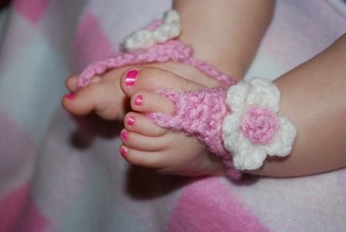 crochet-flower-baby-sandal F3