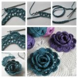 Captivating Crochet Lace Rose Flower – Free Guide and Pattern