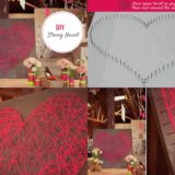 Wonderful DIY Romantic String Heart