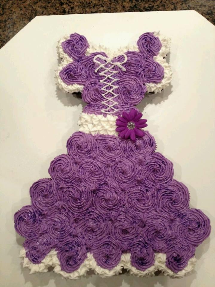 dress cupcake1