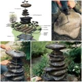 Wonderful DIY Water Garden Fountain