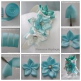 Wonderful DIY  Beautiful Ribbon Hairband
