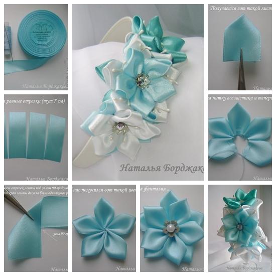 Wonderful DIY Beautiful Ribbon Hairband 2f5d36d44af