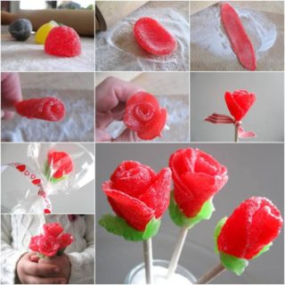 Wonderful DIY Sweet Gumdrop Rose