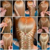 Wonderful DIY Romantic Heart Braided Hairstyle