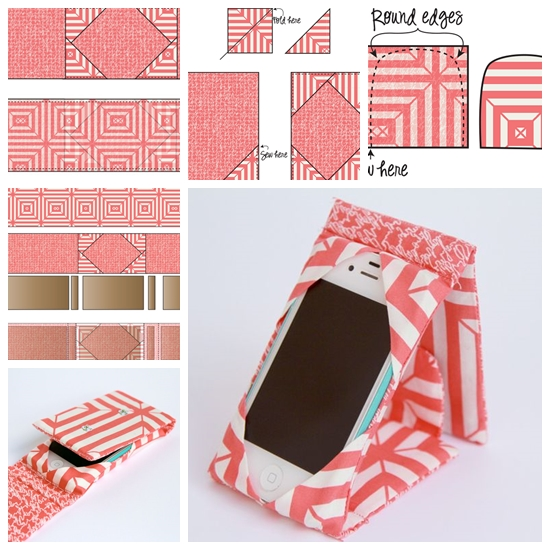 iphone stand cover F Wonderful DIY Sewing  Ipad/phone Case Stand