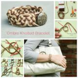 Wonderful DIY Cool Knotted Bracelet