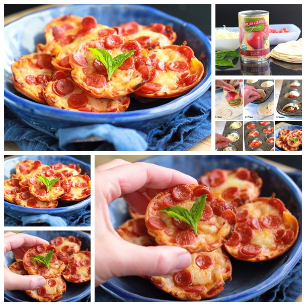 mini-pizzas F