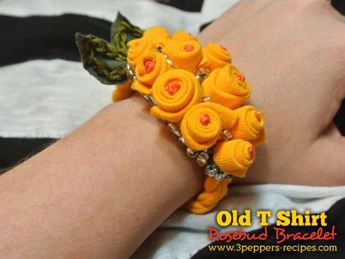 old-t-shirt-rosebud-bracele2t