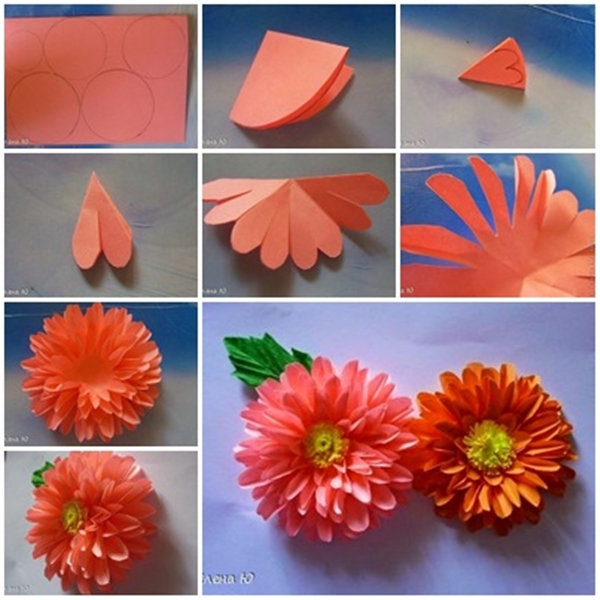 How to make a paper flower step by step easy juvecenitdelacabrera how to make a paper flower step by step easy mightylinksfo