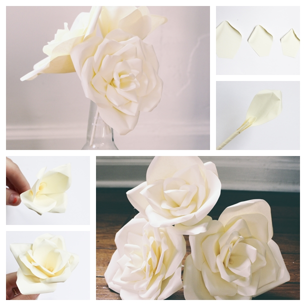 paper flower F Wonderful DIY Beautiful Paper Flower