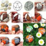 Wonderful DIY Adorable Rock Ladybug